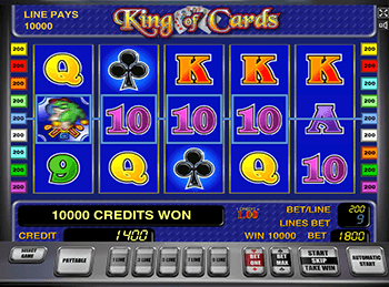 Онлайн игры King Of Cards